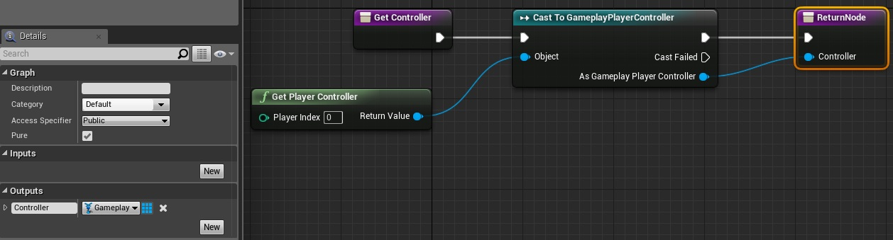 returngameplayplayercontroller