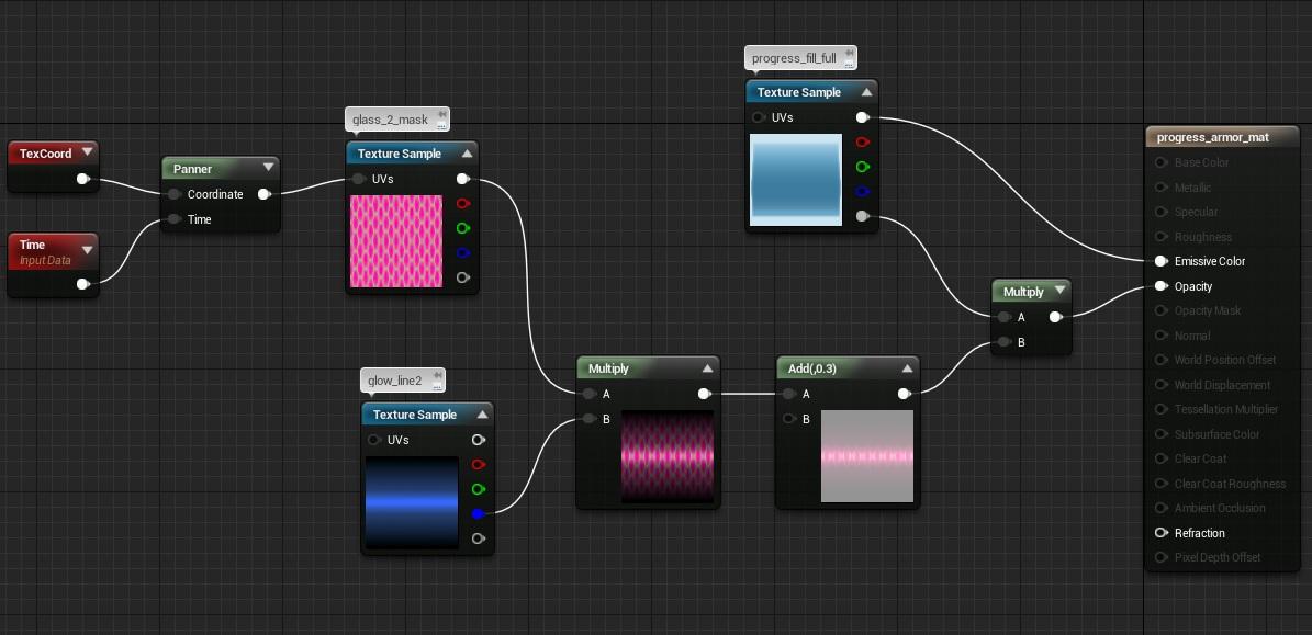 UMG: Adding materials   Shooter Tutorial