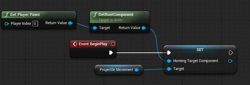 beginplayprojectile