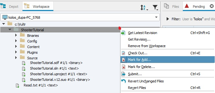 Setting up Perforce in one minute! | Shooter Tutorial